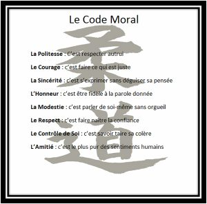 Code moral   Divonne Judo